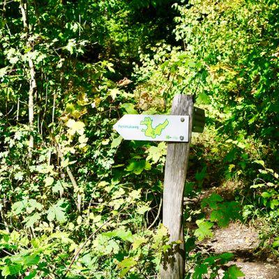 Themen Wanderung Perimuk mit Packgeissen Jurapark Aargau